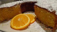 Kέικ πορτοκάλι τέλειο !! ~ ΜΑΓΕΙΡΙΚΗ ΚΑΙ ΣΥΝΤΑΓΕΣ Greek Dishes, Oranges And Lemons, Greek Recipes, Cornbread, Recipies, Cheesecake, Cookies, Fruit, Eat