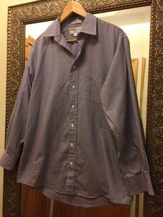 Burberry Dress Shirt, Size: 16-32/33, 100% Cotton, Made in USA  #Burberry #BurberryShirt #BurberryDressShirt #Mens #Shirt #DressShirt