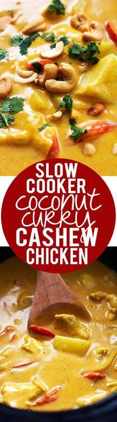 Slow Cooker Coconut
