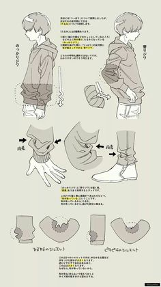 Manga Drawing Tips 画像 - Drawing Reference Poses, Drawing Skills, Drawing Poses, Drawing Techniques, Drawing Tips, Drawing Sketches, Rose Drawings, Hair Reference, Anatomy Reference