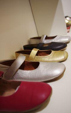 Ballerinas und Ballettschuhe als Hauschschuhe von bisgaard aus 100% Leder. Zu finden auf www.dotkind.at