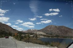 0434/19. Tioga Pass. Mount Dana.13064 ft. 3979m