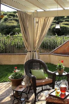 Curtains for Backyard Privacy