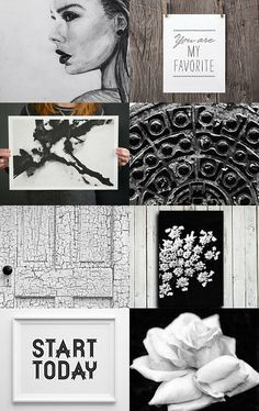 Black and white art by Elinor Levin on Etsy--Pinned with TreasuryPin.com