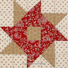 Fat Quarter Mystery Quilt: September Block of the Month by Nancy Zieman