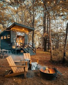 Forest Cabin House