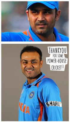 No noise, only action. No farewell, only goodbyes. Indian Cricket will miss you . ‪#‎SehwagRetired‬ ‪#‎BestOfLuck‬