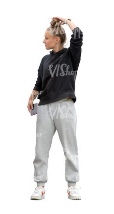 cut out teenage girl standing Rain Collection, Spring Collection, Grey Hair, Blue Hair, Circus City, Cut Out People, Magazine Man, Girl Standing, Sweatpants