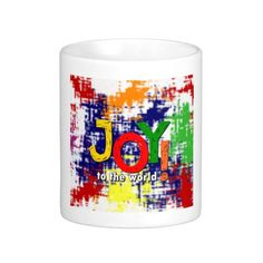 Joy to the World! 11oz Classic white Mug