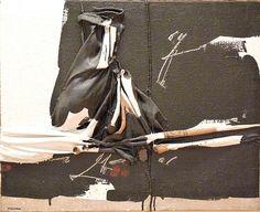 Manolo Millares, Pez abisal, 1968 Needle Felted Animals, Felt Animals, Amazing Artwork, Cool Artwork, Abstract Expressionism, Abstract Art, Alberto Burri, Tachisme, Spanish Artists
