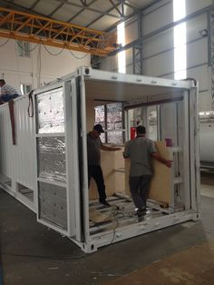 Baroks expertise on thermal container production - noise , fire and thermally isolated military standard container production