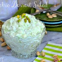 Pistachio Dessert Salad – A.K.A Pistachio Fluff!