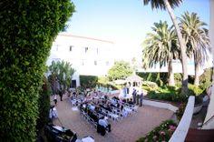 Beach Wedding- Rose Garden Hotel Laguna #beachwedding #rosegarden #ceremony