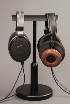 Woo Audio Double T headphone stand.