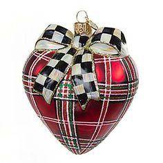 Our Tartan Heart is a classic!