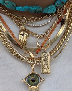 Jewelry Trends, Jewelry Accessories, Fashion Accessories, Fashion Jewelry, Women Jewelry, Jewelry Design, Cute Jewelry, Vintage Jewelry, Accesorios Casual