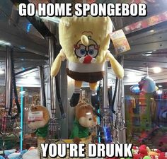 Drunken SpongeBob Meme | Slapcaption.com