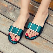Summer Style 2016 Shoes Woman Sandals sapato feminino Slippers Casual Beach Shoes Big Yards Sandals Lady Slipper…