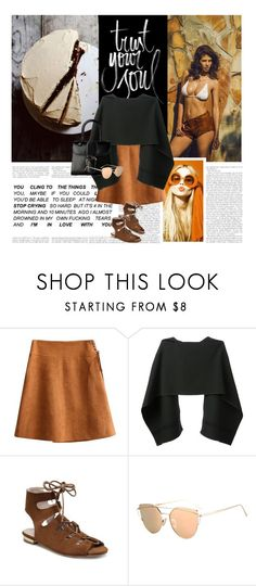 """""""18/04/2017 Rosegal 7"""" by qarlla ❤ liked on Polyvore featuring MaxMara, BEVZA and Delvaux"""