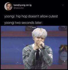 Min Yoongi Bts, Bts Suga, Bts Taehyung, Bts Bangtan Boy, Bts Boys, Bts Memes Hilarious, Bts Funny Videos, Bts Photo, Foto Bts