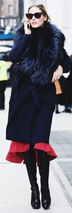 Olivia Palermo in New York Fashion Week by Collage Vintage