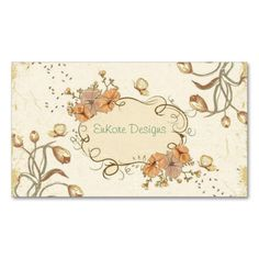 Vintage Garden Double-Sided Standard Business Cards (Pack Of 100). This is a fully customizable business card and available on several paper types for your needs. You can upload your own image or use the image as is. Just click this template to get started!