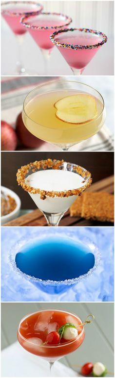 Marshmellow cake-tini cocktail