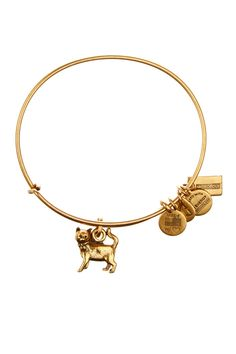 Alex and Ani | Monopoly Cat Charm Wire Bangle | Sponsored by Nordstrom Rack. ==