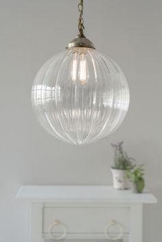 Greenwich Pendant Light in Antiqued Brass Pendant Light Fitting, Glass Pendant Light, Glass Pendants, Pendant Lighting, Hall Lighting, Kitchen Lighting, Lighting Ideas, Ceiling Rose, Ceiling Lights