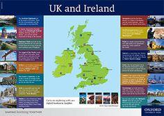 Map Posters Worksheets   Оксфорд Юніверсіті Прес