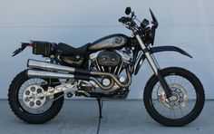 Scrambler, Dirtster, Dual Sport , Adventure Sportster picture thread - The Sportster and Buell Motorcycle Forum Sportster Cafe Racer, Harley Scrambler, Harley Davidson Scrambler, Sportster Motorcycle, Hd Sportster, Bobber, Motorcycle Exhaust, Dirt Bike Tires, Dirt Bikes