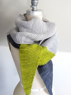 Ravelry: EspaceTricot's Tosh Tipped Scarf