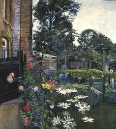 WILLIAM BOWYER The Artist's Garden