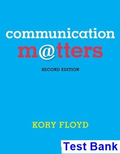 Concepts of database management 8th edition pratt test bank test communication matters 2nd edition kory floyd test bank test bank solutions manual exam fandeluxe
