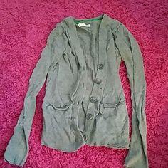 Cardigen Grey cardigen with little front pockets Aeropostale Sweaters Cardigans