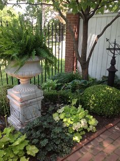Shade Garden Ideas - Amazing the Gardens Of Union Hill Landscaping Ideas - Garden Design Garden Urns, Lawn And Garden, Willow Garden, Garden Table, Herb Garden, Landscape Design, Garden Design, Landscaping On A Hill, Landscaping Ideas