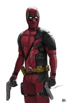 #Deadpool #Fan #Art. (Deadpool) By: Xmonrivera. ÅWESOMENESS!!!™ ÅÅÅ+