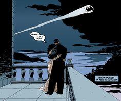 Batman: The Long Halloween Bruce Wayne and Selina Kyle Catwoman Comic, Batman And Catwoman, Batman Art, Hug Your Cat Day, Gamora Marvel, Bruce And Selina, Batman The Long Halloween, Catwoman Selina Kyle, Batman Tattoo