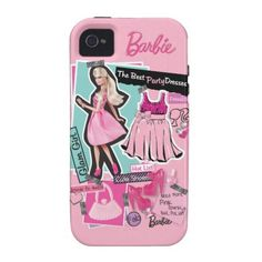 Barbie Fashion Collage Case-Mate iPhone 4 Case
