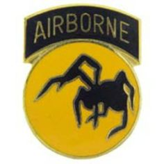 """U.S. Army 135th Airborne Division Pin 1"""" by FindingKing. $8.99. This is a new U.S. Army 135th Airborne Division Pin 1"""""""
