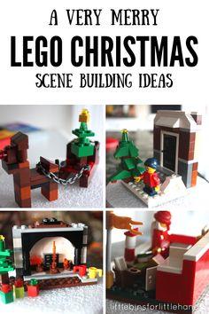LEGO Christmas Building Ideas 25 Days LEGO Countdown Calendar Advent