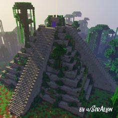 Minecraft Temple, Minecraft Rp, Minecraft Building Guide, Minecraft Castle, Minecraft Survival, Amazing Minecraft, Minecraft Construction, Minecraft Blueprints, Minecraft Crafts