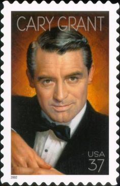 Cary Grant One of film history's most witty and debonair leading men received one of the nation's highest honors when a new commemorative postage stamp was issued by the U.S. Postal Service on Oct. 15, 2002 in Hollywood, Calif.
