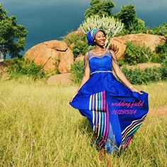 African Wear, African Dress, Sepedi Traditional Dresses, African Wedding Dress, African Fashion Dresses, Dress Codes, How To Look Pretty, Retro Fashion, Designer Dresses