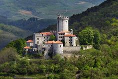 In the southwestern part of Slovenia and surrounded by the beautiful wooded hills, rises the Rihemberk castle, also known as Grad Branik (Branik Castle).