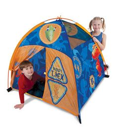"48""D×48""W×42""T Look what I found on #zulily! Dino Bones Dome Tent by Pacific Play Tents #zulilyfinds"