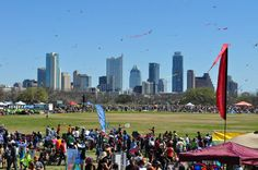 84th Annual Kite Festival at Zilker Park! (courtesy KVUE photographer Robert McMurrey)