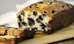 This Blueberry Muffin Bread is a favourite Recipe. This blueberry loaf is wonderful after dinner with some coffee but equally good for breakfast. Blueberry Muffin Bread Recipe, Blueberry Loaf, Blueberry Recipes, Blueberry Breakfast, Bread Recipes, Cooking Recipes, Healthy Recipes, Blue Berry Muffins, Sweet Bread