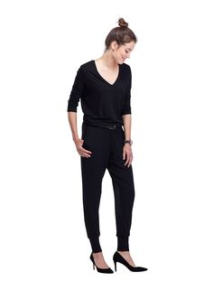 Weston Jumpsuit in Black | BAUKJEN