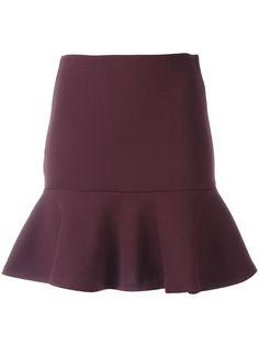 MCQ BY ALEXANDER MCQUEEN peplum mini skirt. #mcqbyalexandermcqueen #cloth #skirt